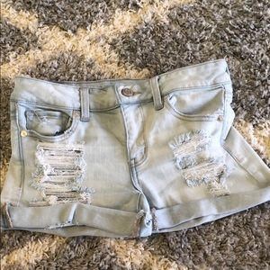 Light Denim American Eagle Shorts Size 4